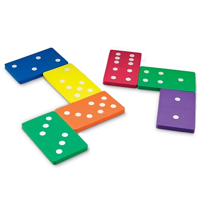 Learning Resources Jumbo Foam Dominoes (LER6380)