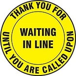 LegendRESPIRATOR REQUIRED with Graphic Black on Yellow LegendRESPIRATOR REQUIRED with Graphic 17 Diameter ACCUFORM SIGNS Accuform MFS204 Slip-Gard Adhesive Vinyl Round Floor Sign 17 Diameter