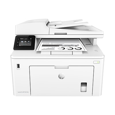 Hp Laserjet Pro M227fdw All In One Wireless Laser Printer All In One G3q75a Quill Com