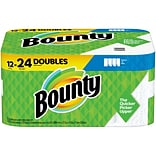 Bounty Select-A-Size Paper Towel, 2-Ply, White, 110 Sheets/Roll, 12 Rolls/Pack (76209)