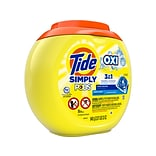 Tide Simply PODS +Oxi Fresh Laundry Detergent Liquid, 33 Oz. (60601)
