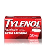 Tylenol Extra Strength Caplets with 500 mg Acetaminophen, 100 Caplets (931218)