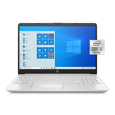 HP 15-dw2065st 15.6 Notebook, Intel i5, 8GB Memory, 256GB SSD, Windows 10