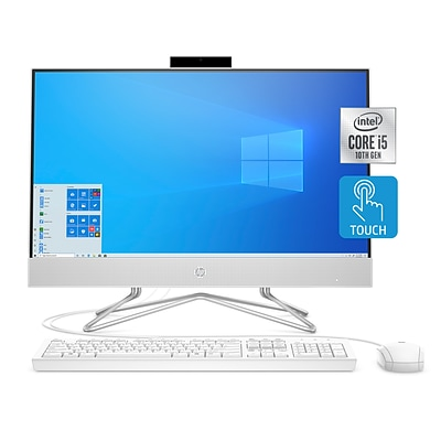 HP 24-df0056 24 All-in-One Desktop Computer, Intel i5, 8GB RAM, 256GB SSD (9EF21AA)