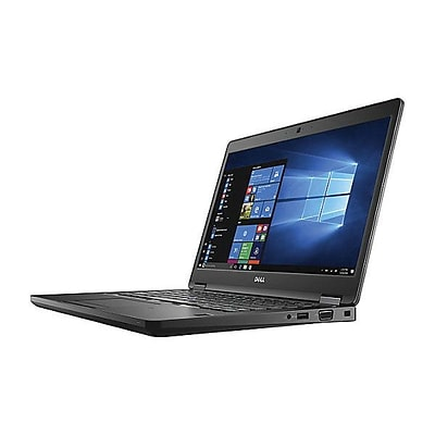 Dell™ Latitude MFGHD 5000 5480 14 Notebook, LCD, Intel Core I5-7200U, 500GB HDD, 4GB RAM, WIN 10 Pro, Black