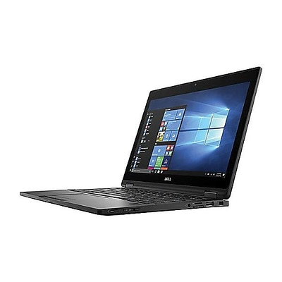 Dell™ Latitude 99WF7 5000 5289 12.5 2-in-1 Ultrabook, Intel Core i5-7300U, 256GB SSD, 8GB RAM, WIN 10 Pro, Black