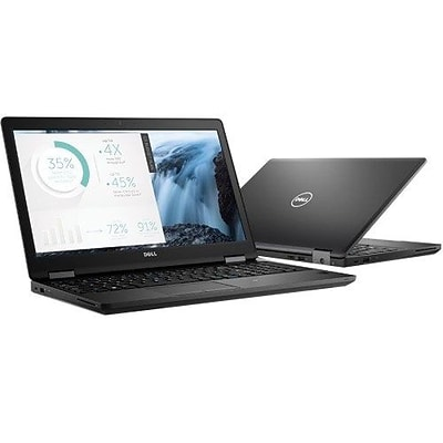 Dell™ Latitude 8DFDH 14 5000 5480 14 Notebook, LCD, Intel Core I5-7440HQ, 256GB SSD, 8GB RAM, WIN 10 Pro, Black