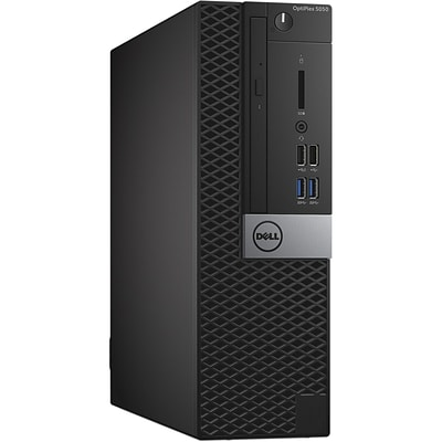 Dell™ OptiPlex YMYT2 5050 Intel Core i5-7500 500GB HDD 4GB RAM Windows 10 Pro SFF Desktop Computer