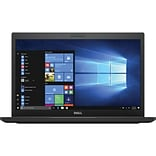 Dell™ Latitude CT1FM 7480 14 Laptop, LCD, Core i5-7300U, 128GB SSD, 4GB RAM, WIN 10 Pro, Black