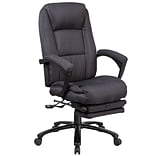 Flash Furniture High Back Fabric Executive Reclining Swivel Office Chair with Comfort Coil Seat Spri