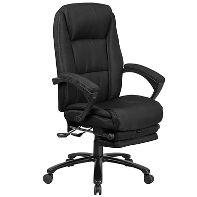 flash furniture high back fabric executive reclining swivel office