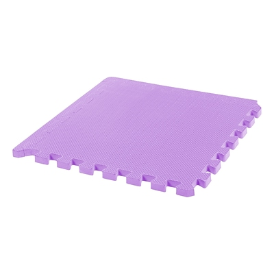 IRIS® 18.3 x 18.3 Thick Joint Mat, 4 Pack, Purple