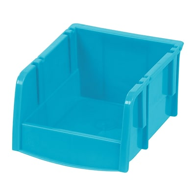 IRIS® Extra Small Storage Bin, Teal, 24 Pack