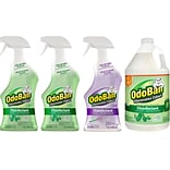 ODOBAN Disinfectant Spray and Concentrate, Lavender/Original Eucalyptus, 32 Fl. oz./128 Fl. oz., 4/C