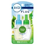 Febreze Plug Air Freshener Scented Oil Refill, Morning and Dew Scent, 0.87 oz. (74902)