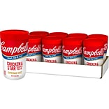 Campbells On The Go Chicken & Star Shaped Pasta Soup, 10.75 Oz., 8/Pack (15076)