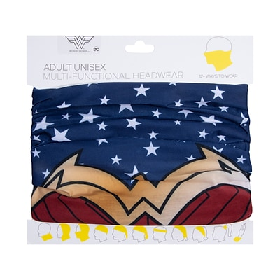Bioworld Wonder Woman Gaiter Face Mask, Adult (GA9LKTDCO00IR00)