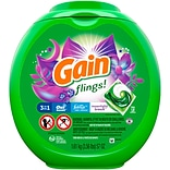 Gain Flings! Moonlight Breeze Detergent Pods, 56 oz., 72 Pods/Pack (86795)