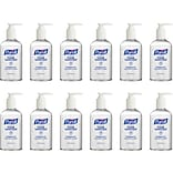 Purell Advanced Gel Hand Sanitizer, 8 oz., 12/Carton (4040-12-S)