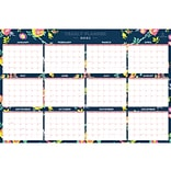 2021 Blue Sky 36 x 24 Wall Calendar, Day Designer Peyton Navy, Multicolor (103632-21)