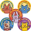 "SmileMakers® Animal Hearing Test Stickers; 2-1/2""H x 2-1/2""W, 100/Box"