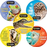 "SmileMakers® Animal Eye Exam Stickers; 2-1/2""H x 2-1/2""W, 100/Roll"